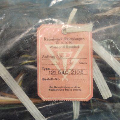 Mercedes Main Wiring Harness W121 190SL 1215402105 NOS NLA Genuine Sealed Bag