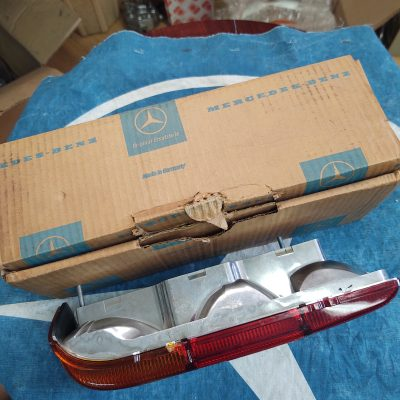 Mercedes W113 Taillight  Amber/Red Housing 1138260156 Left NOS