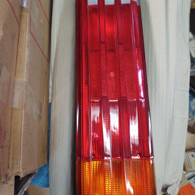 Mercedes W116 Taillights Complete Housing L+R, 1168203364+1168201564 NOS sealed box 450se, sell 6.9