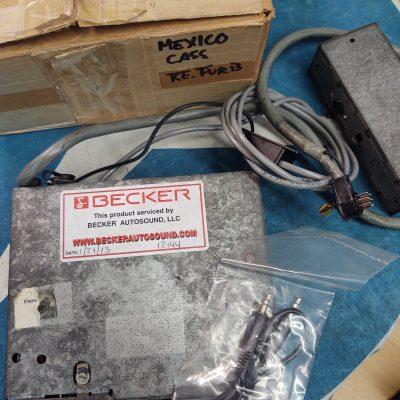 Becker Mexico Cassette Mercedes Benz Genuine