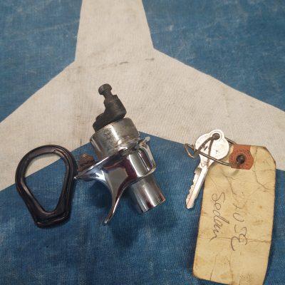 Mercedes W110 Trunk Lock+ Ymos key 1107500284