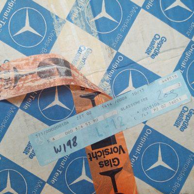 Mercedes W198 300SL Bosch Euro Style Headlight Lens 0008265390 NOS