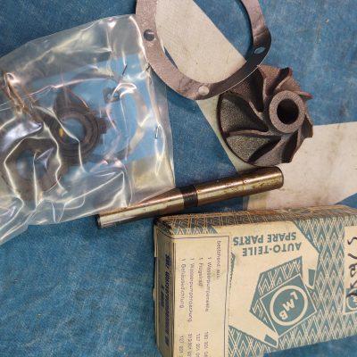 Mercedes W180 Water Pump Rebuild Kit NOS 1957-59 Ponton 220