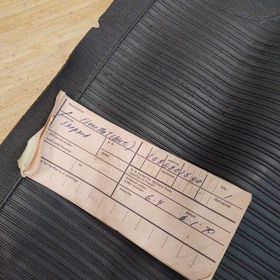 Mercedes W108 Grey Carpet Set 1086801540 NOS