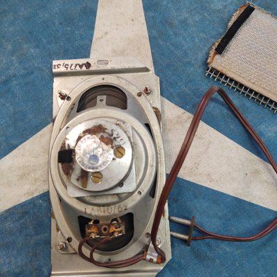 Mercedes Ponton Blaupunct  Radio Speaker and Cover