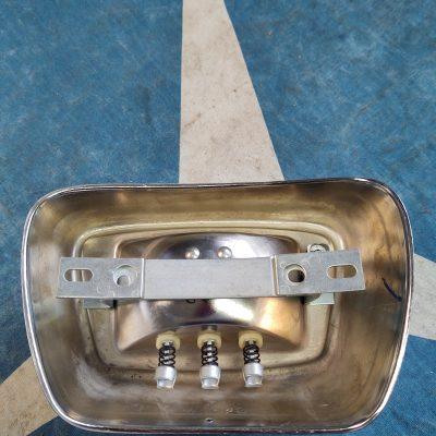 Mercedes W110 Bosch Amber Fog Light Assembly 1108201220 Right NOS