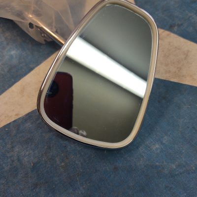 Mercedes W121,W180 Chrome Outside Mirror Complete Assembly Left 1808109916-30 NOS