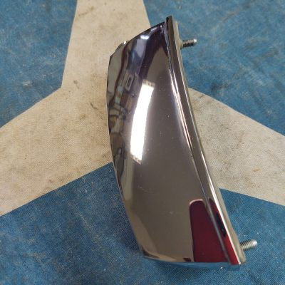 Mercedes W108,W109 Hella Chrome License Plate Lamp Assembly Right  NOS