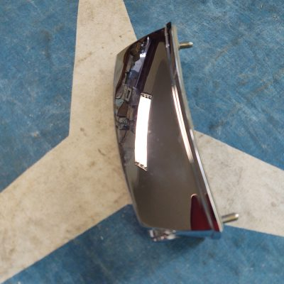 Mercedes W108,109 Hella Chrome  License Plate Lamp Assembly Left NOS