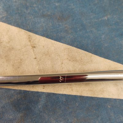 Mercedes W198 Aluminum Door Trim 1987270182-42 Left NOS NLA