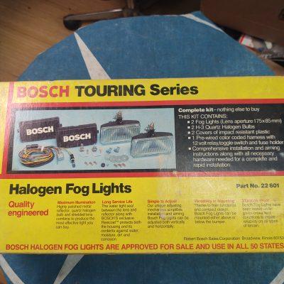 Mercedes, BMW, BOSCH 22601 Halogen Fog Lamps Kit NOS