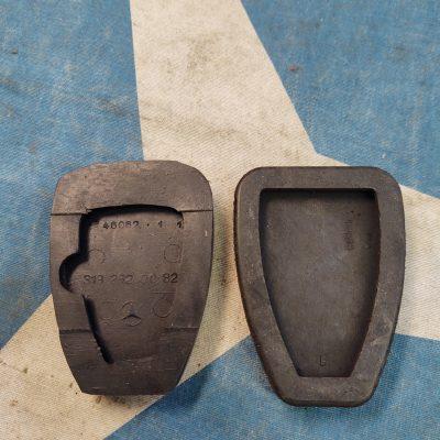 Mercedes 50's- 60's Brake/ Clutch  Pedal Pad 3192920082 New