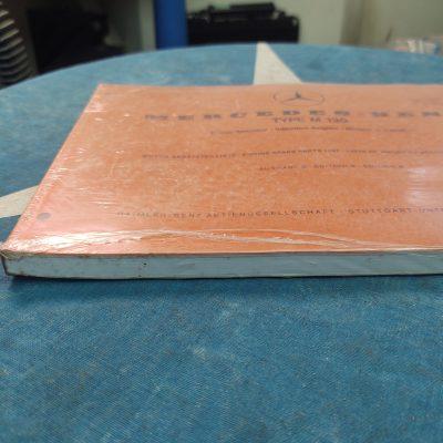 Mercedes M130 Engine Parts Book Ed.B 10180 Genuine NOS Mint Sealed Bag