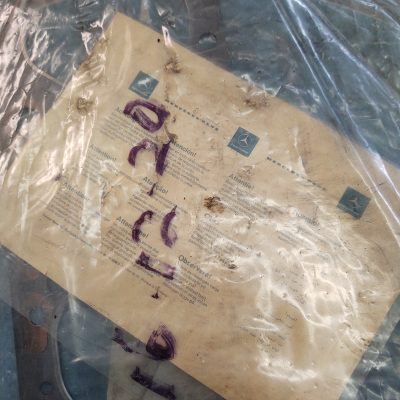 Mercedes Genuine W114 Head Gasket 1140161520 NOS sealed bag