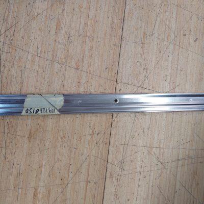 Mercedes W113 Chrome Rocker Molding 1137280130 Left NOS NLA