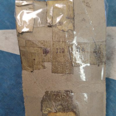 Mercedes 3 Hole Door Lock Strike Plate 1107201204 Right  NOS 1959-71