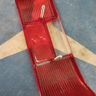 Mercedes W114 Taillight Lens All Red 1158260256 Right NOS NLA