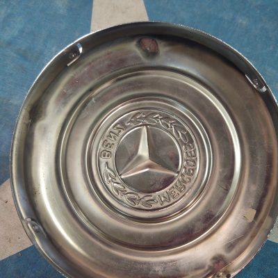 Mercedes Pre-War 6 inch Chrome Hubcap