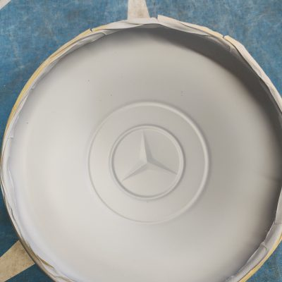 Mercedes W120, 180- 9 in. Hubcap 1534010825 New (Copy)