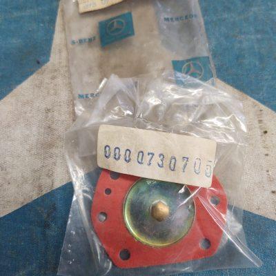Mercedes Solex Carburetor Diaphragm 0000730705 NOS sealed bag