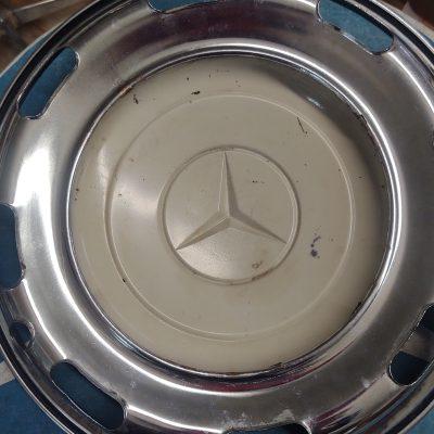 Mercedes Adenauer 300b,c,d Genuine Hubcap 16.5 inches Ex. Cond. Used