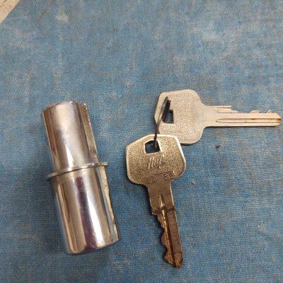 Mercedes Door Cylinder Lock w/ Huf HD 86 Keys NOS W108,W109,W111,W114