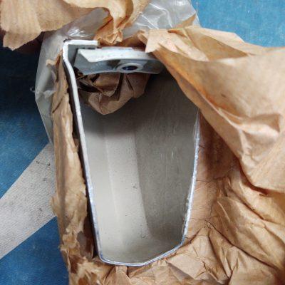 Mercedes W110 Chrome Bumper Overrider 1108800355 Left Front NOS Sealed Bag