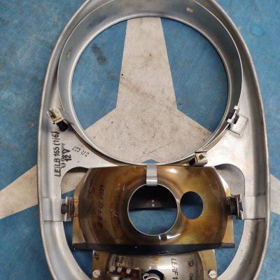 Mercedes W113 Bosch LEDE58L2Z Headlight Bucket+ Reflectors NOS