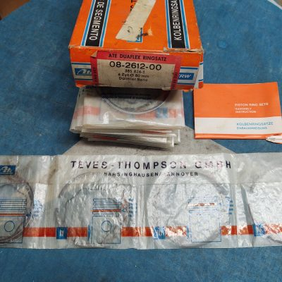 Mercedes ATE Piston Rings Set 08-2612-00 6 cyl. 80mm NOS