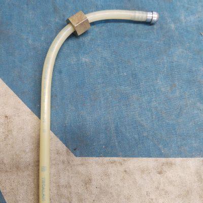 Mercedes Vacuum Line 17mm Nut w/ Banjo End Tecalan din 73378 NOS
