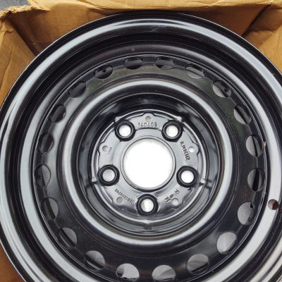 Mercedes W108 14 in. Steel Rim 1084000702 NOS