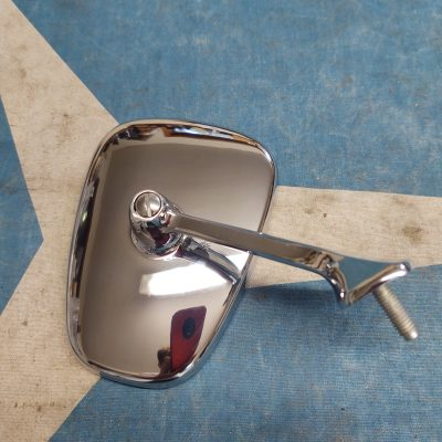 Mercedes W108, W109 Early Outside Mirror Complete Assembly Left New