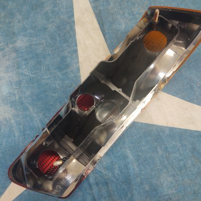 Mercedes W108,W109 Taillight Lens Red/ Orange 1088260156 Left NOS