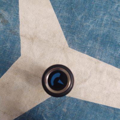 Mercedes R107 Blue AC Temp Knob NOS