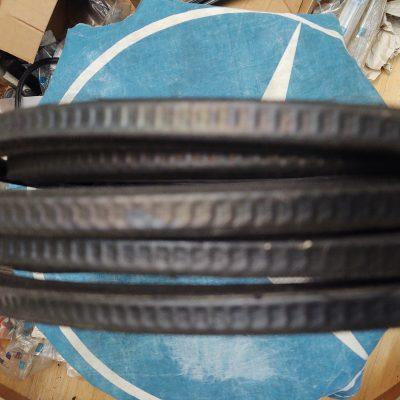 Mercedes Genuine Window Channel Felt Guide 0009852930 NOS W108, W109, W110, W111, W114, W115
