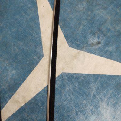 Mercedes Door Glass Cleaning Fuzzy Strip 15.5 inch Genuine NOS