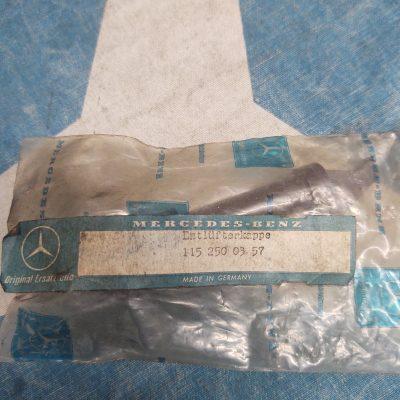 Mercedes W111, W114, W115 Clutch Breather Hose 1152500357 NOS sealed bag
